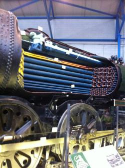 Cutaway of Steam Engine