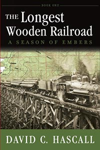 The Longest Wooden Railroad Book Cover